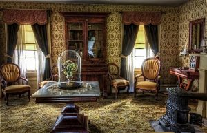Furniture salvaged from a family home built in the 1800s